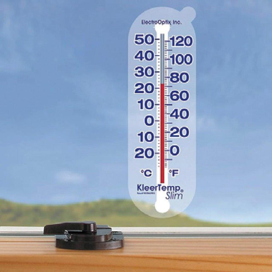 ELECTRO-OPTIX ウィンドウ スリムサーモメーター(温度計) アメリカ製