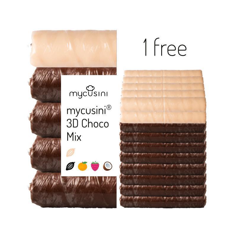 mycusini® 3Dチョコ フレーバーミックス 10パック