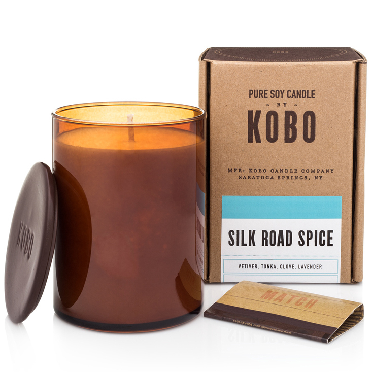 SILK ROAD SPICE - WOODBLOCK CANDLES