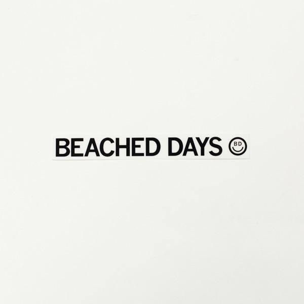 【BEACHED DAYS】BEACHED DAYS STICKER S