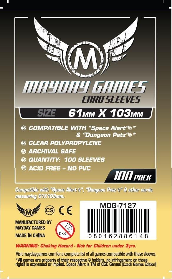 (61x103mm) Mayday カードスリーブ MDG-7127