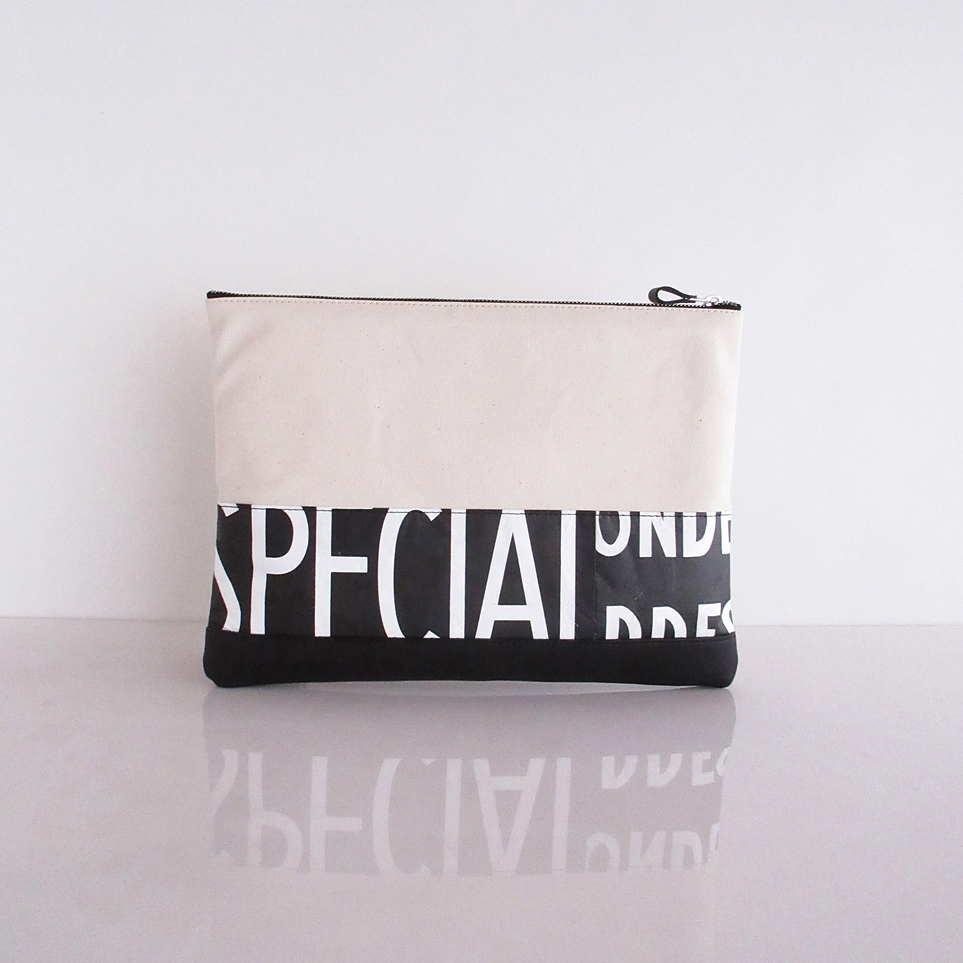 Clutch Bag / White  CLW-0011