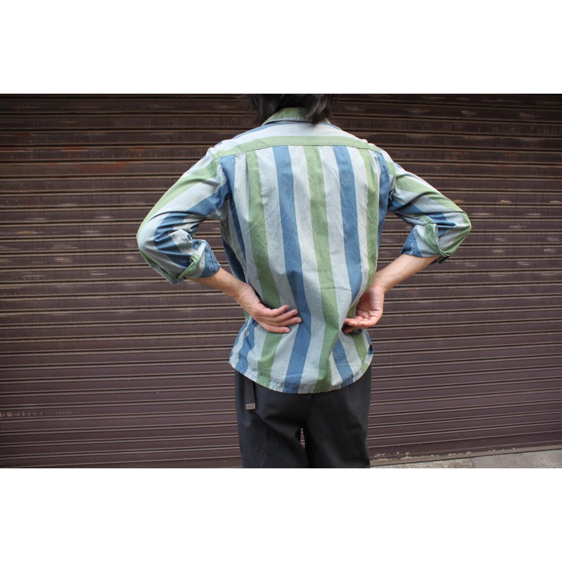 Vintage italian collar shirt