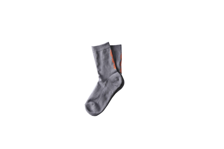 MYne logo socks / GRAY - 画像1