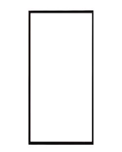 ポスターフレーム 特注サイズ100x50cm ブラック (スワンウィング用)