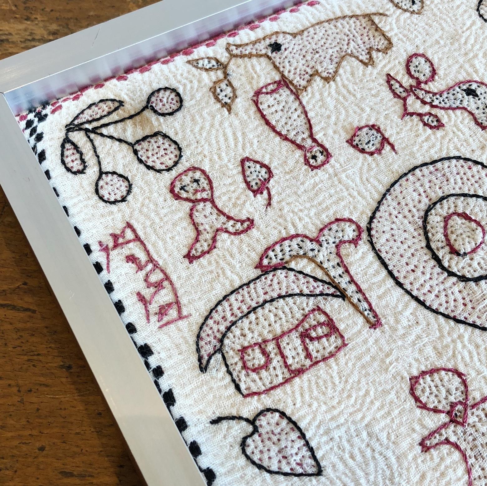 ノクシカタ刺繍