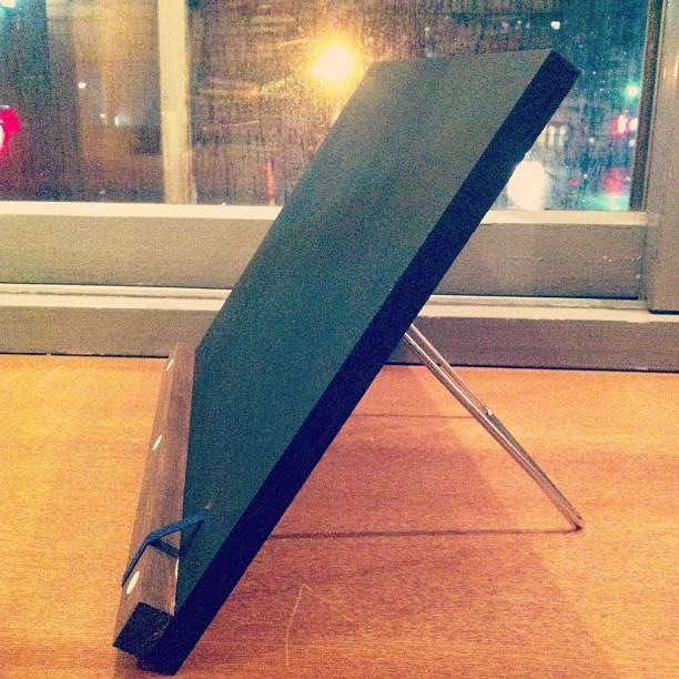 雑貨「ディスプレイ黒板(小)」 - 画像1