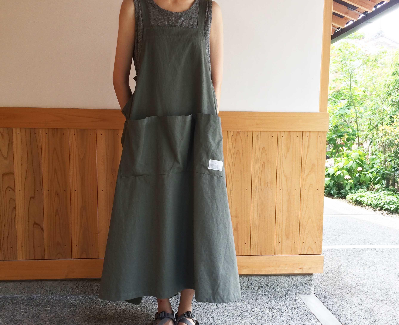 バックリボンジャンパースカート KA