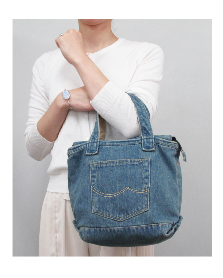 denim tote small Lot:90004 - 画像5