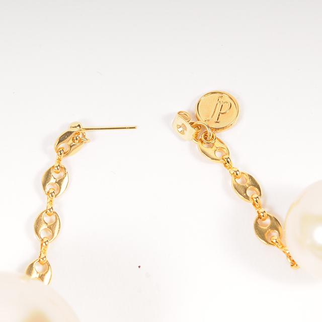 df19SM-J02 PEARL SWING PIERCE-M (gold)