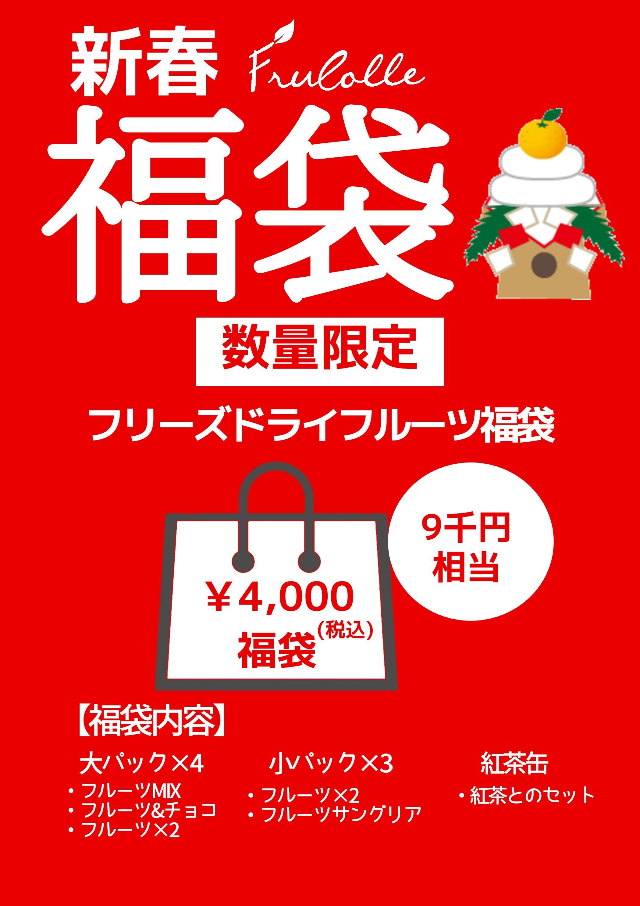 【数量限定】フルコレ フリーズドライ福袋 4,000円