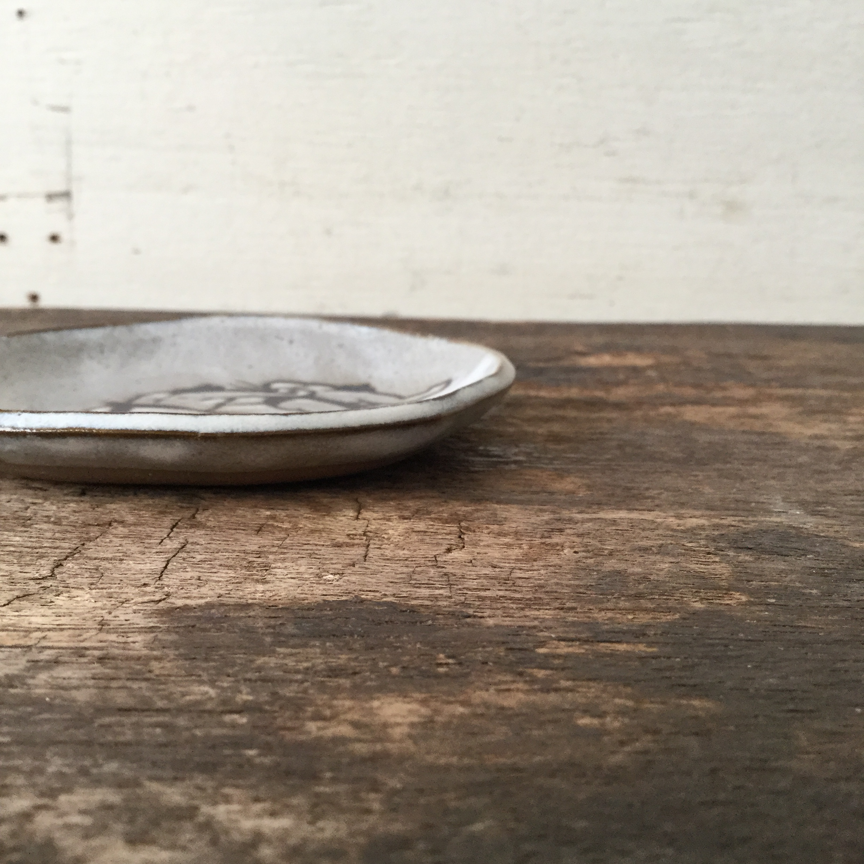 清水直子 / 小皿 相撲 SN-10 - 画像4