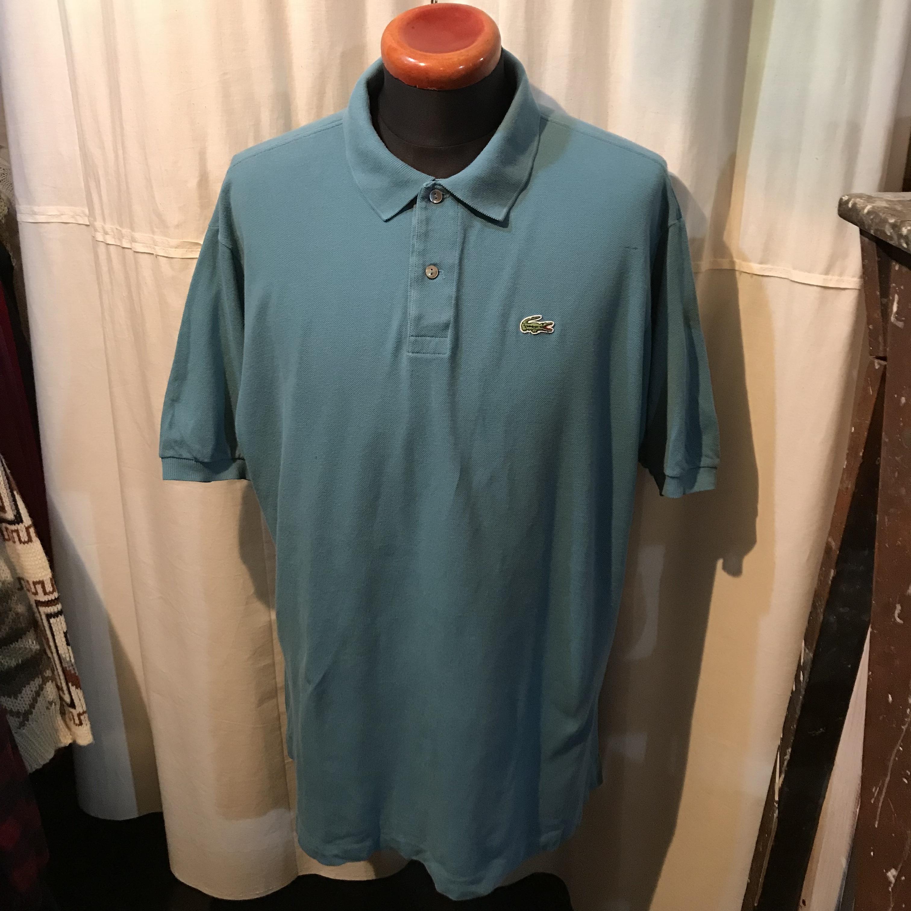 70's~80's vintage LACOSTE ラコステ フレンチラコ ポロシャツ メンズXL