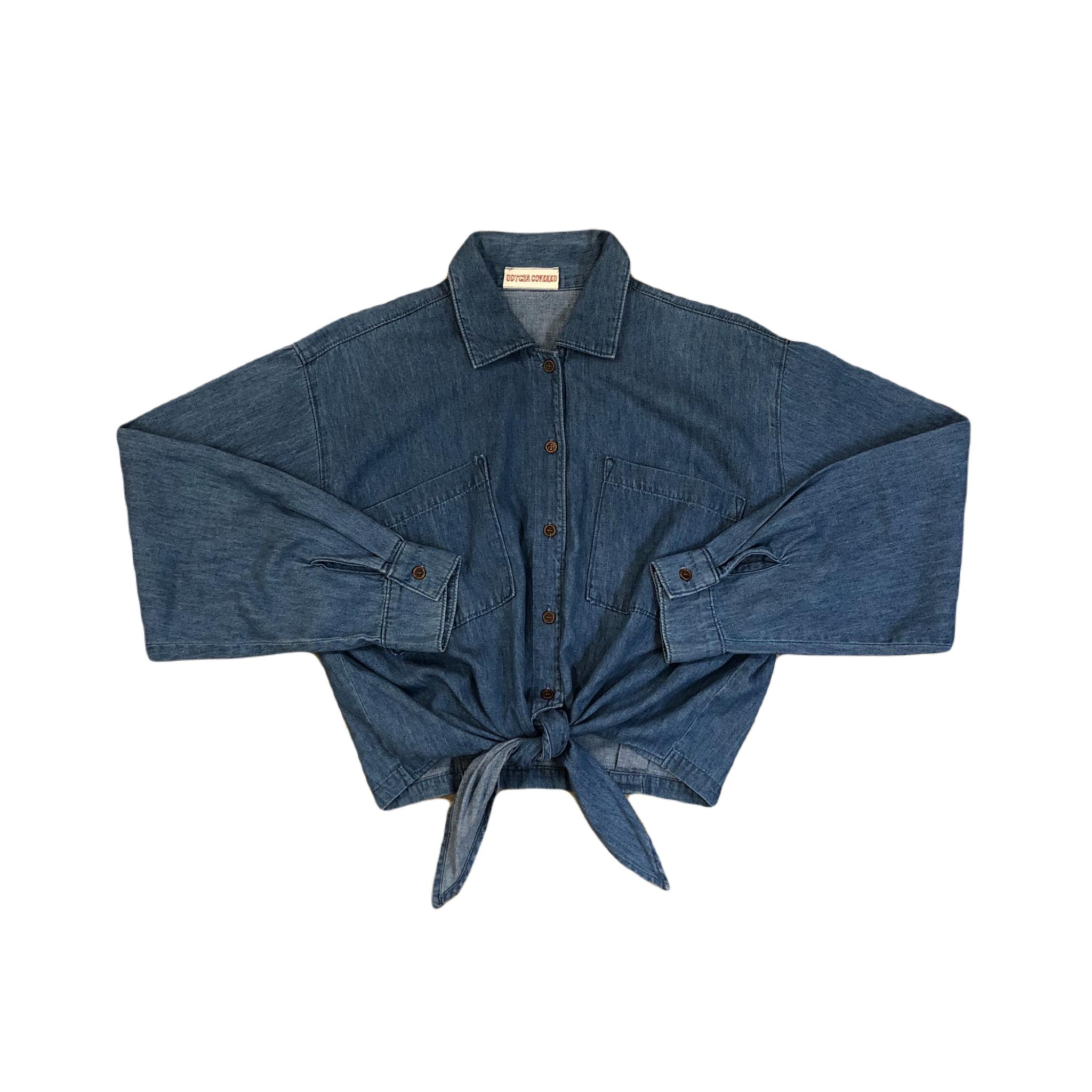 Gotcha Covered Denim Shirts ¥5,400+tax