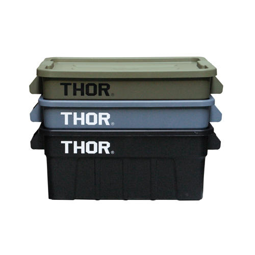 トラスト THOR Large Totes With Lid 53L コンテナ