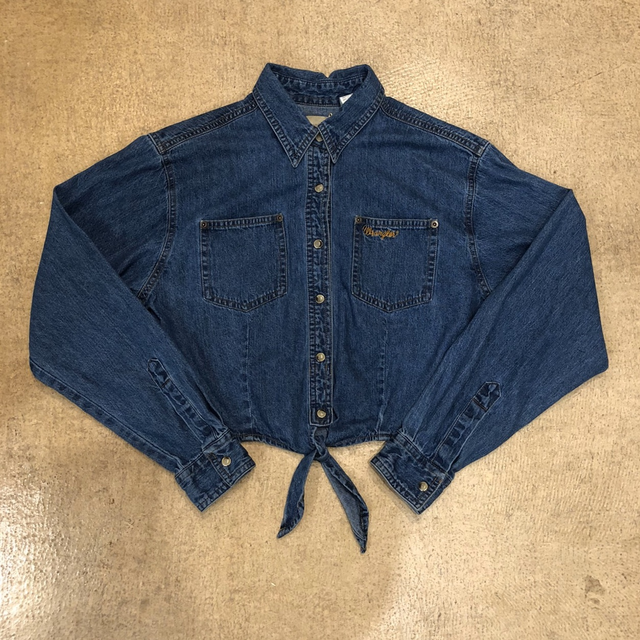 Wrangler Denim Shirts ¥6,400+tax