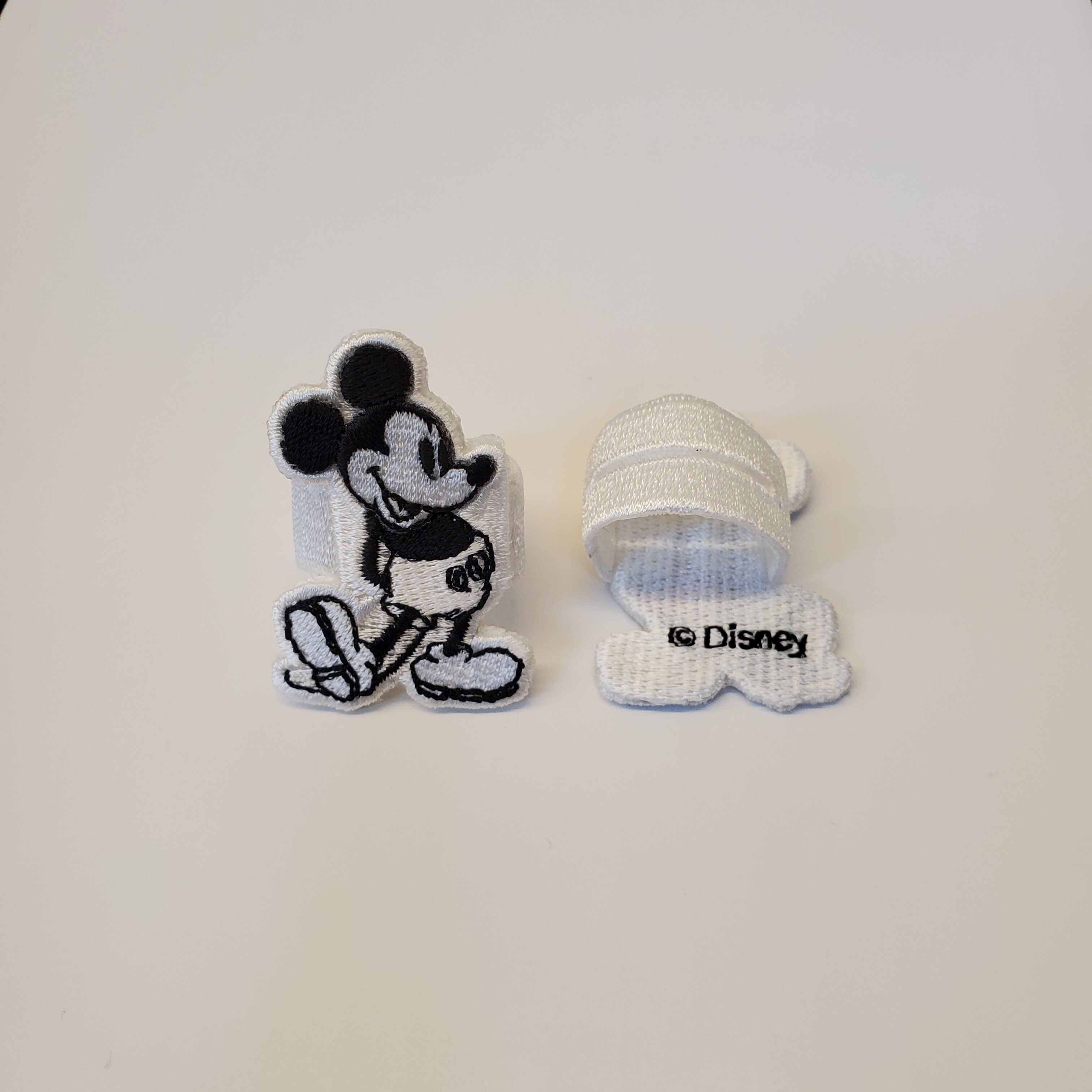 sa.0030cSS20 button cover. (monotone color Mickey Mouse)