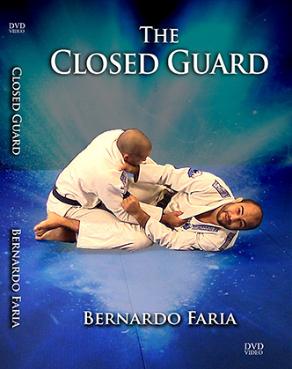 ベルナルド・ファリア ザ・クローズドガード DVD4枚セット|ブラジリアン柔術教則DVD
