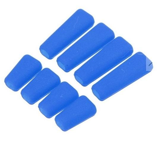 特価◆FUTABA&JRその他送信機 スイッチ シリコンカバー セット カラー/ ブルー T8FG 14SG 16SZ 18SZ 18MZ XG8 XG14など