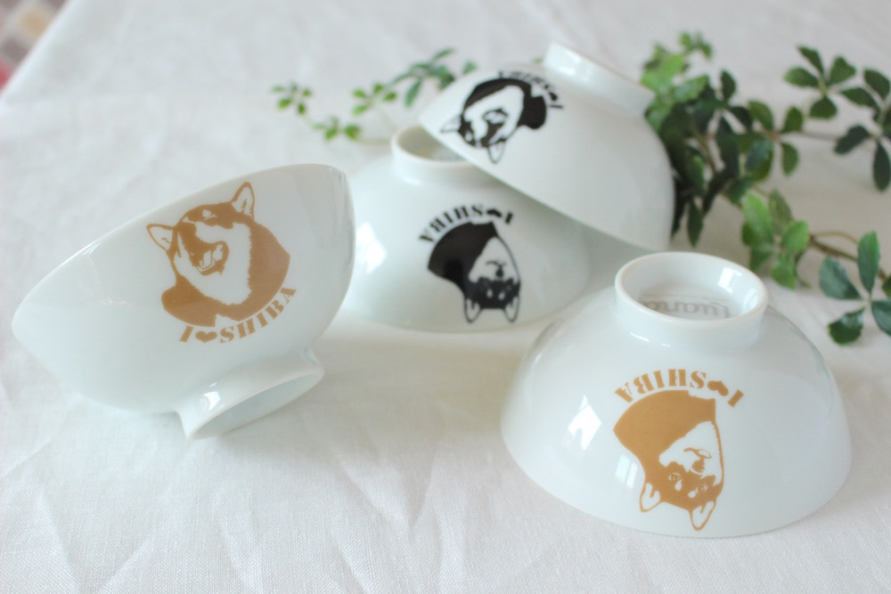 Art Dog SHIBA お茶碗