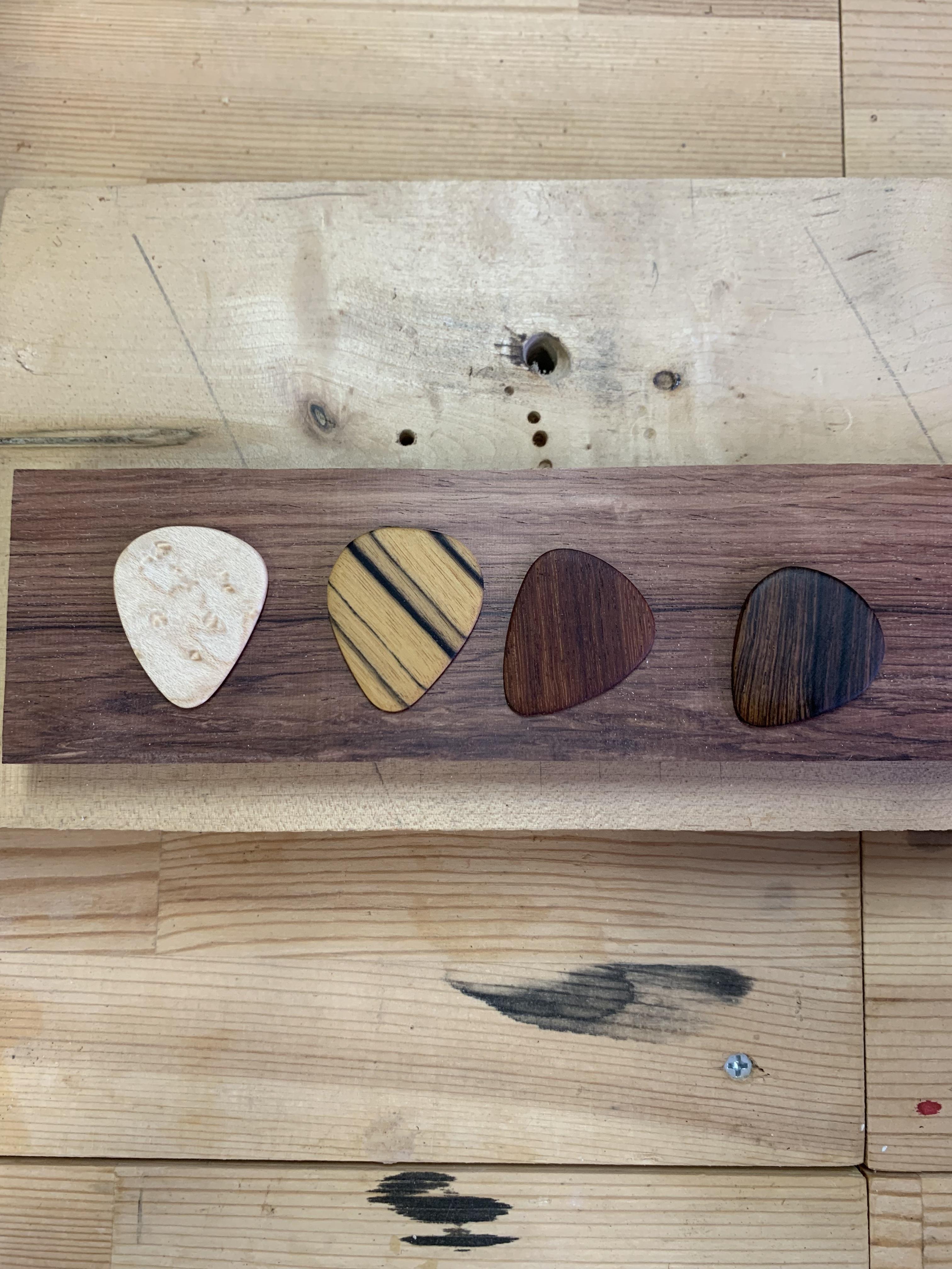 木のピック 4枚セット