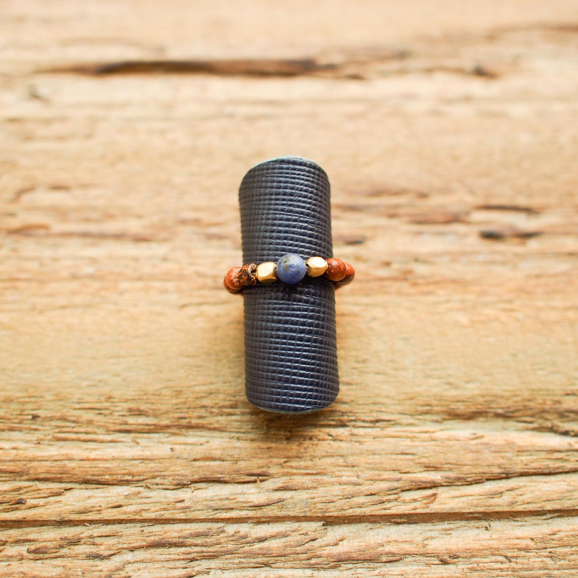 Free Size Ring【Sodalite】
