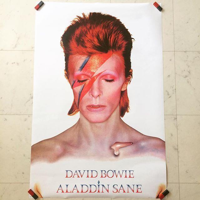 ポスター「デヴィッド・ボウイ David Bowie アラジン・セイン」 - 画像1