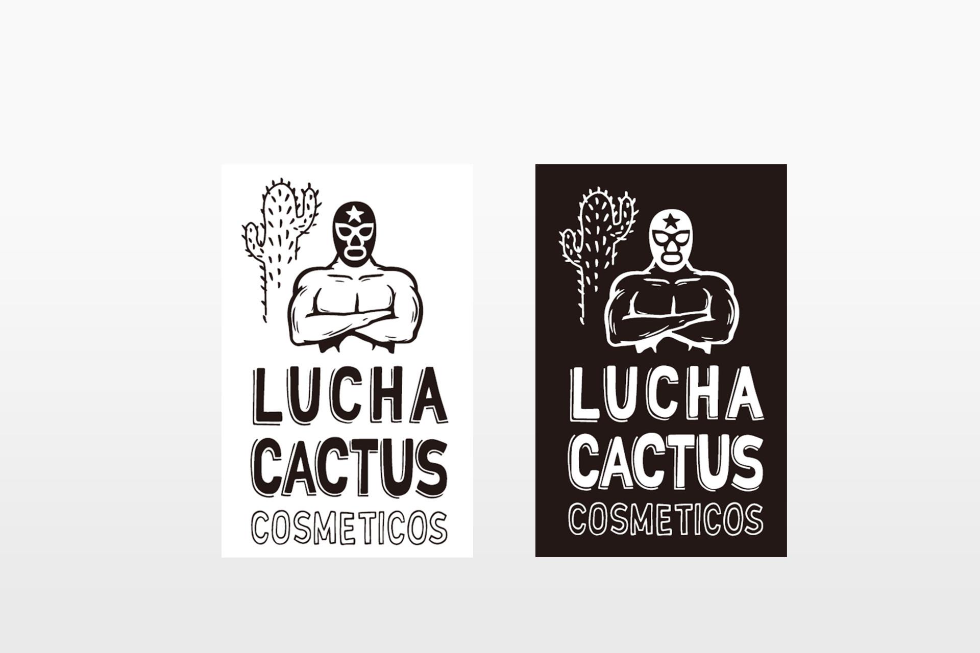 LUCHA CACTUS オリジナルステッカー