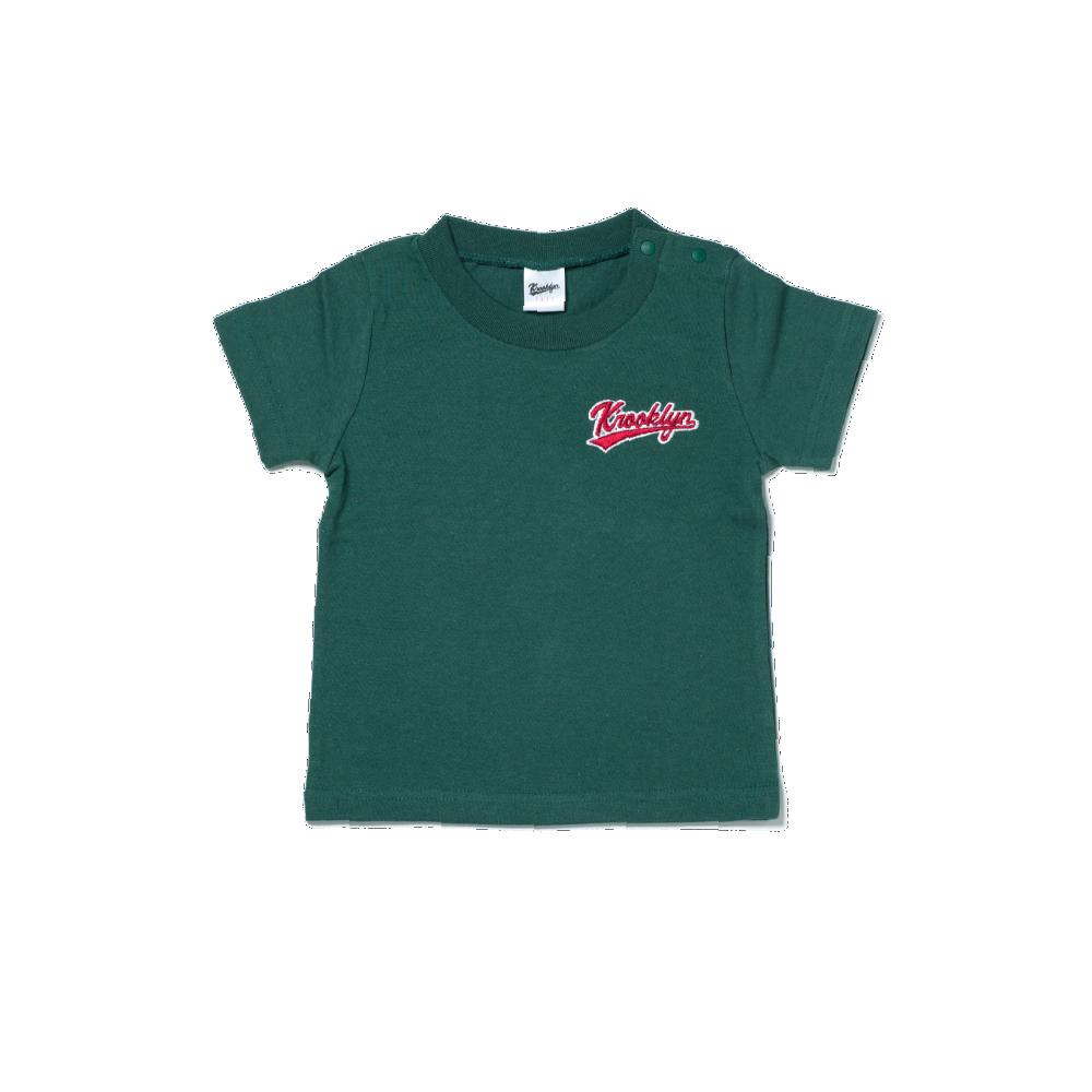 Kid's Logo T-Shirt - Dark Green (90cm)