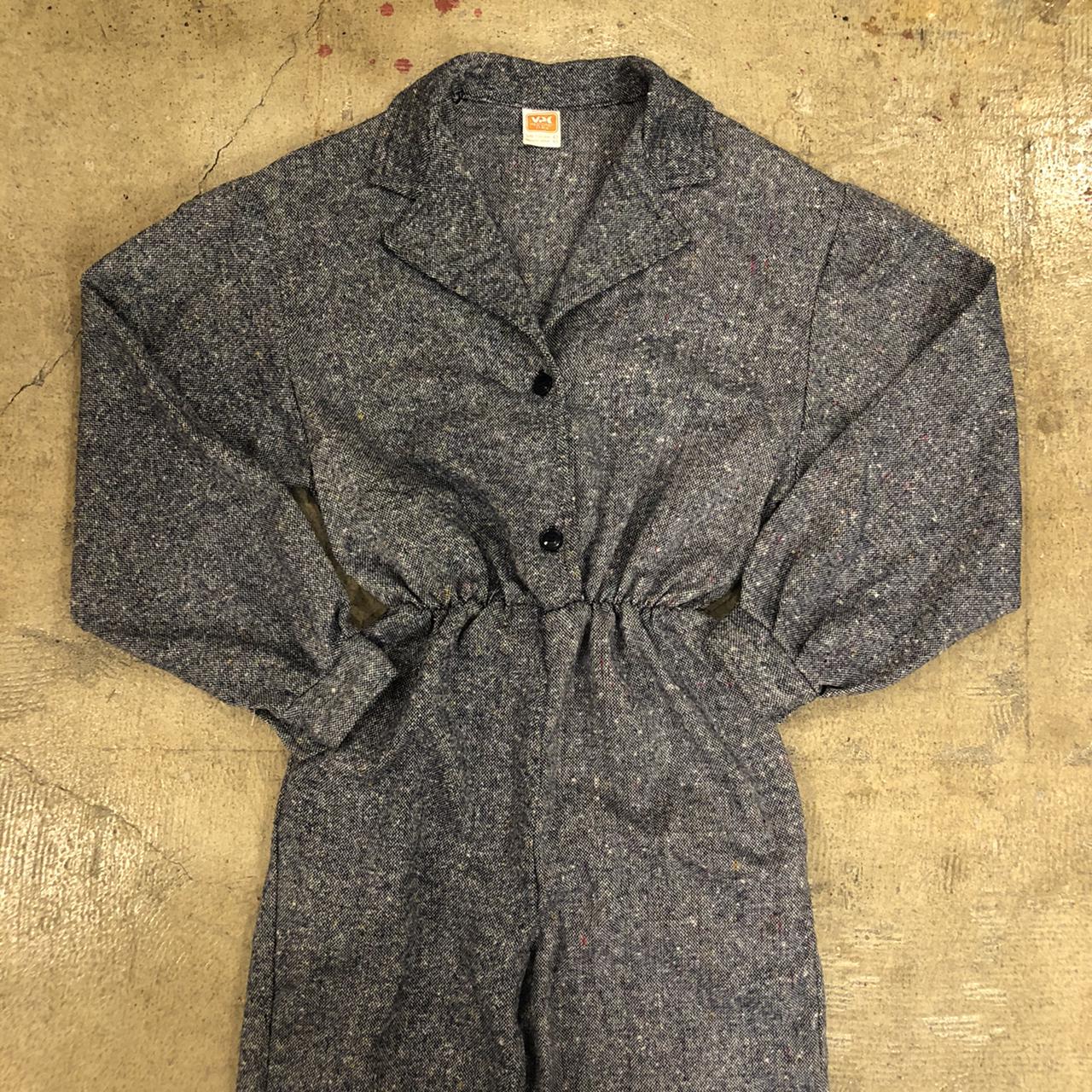 Vintage Nep Jumpsuit ¥8,200+tax