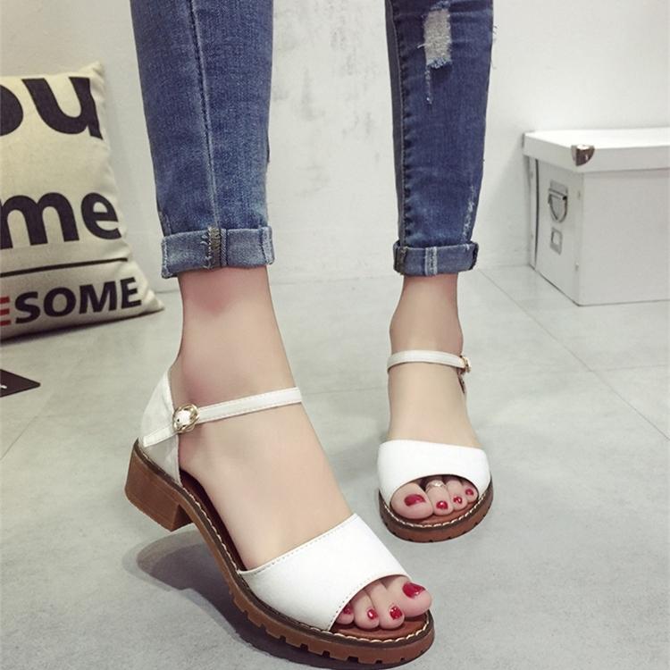 【shoes】無地シンプルサンダル12853074