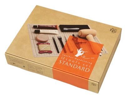 革の手縫いハンドブック付属 革の手縫い工具 12点セット
