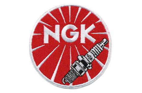 NGK・ロゴ・ワッペン
