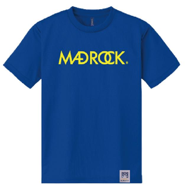 マッドロックロゴ Tシャツ/ドライタイプ/ロイヤルブルー