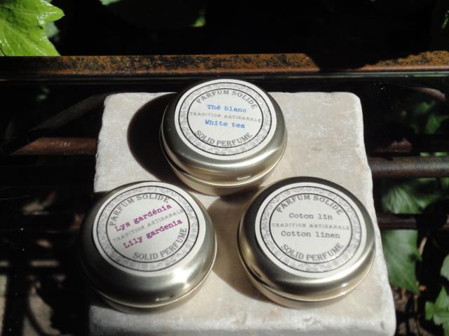 Senteur de Beaute サンタール・エ・ボーテ 練り香水