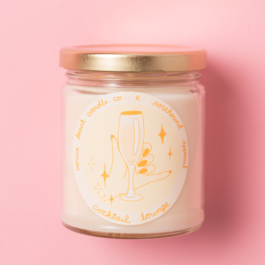 ROSEHOUND ROOM CANDLE(TR1712012)