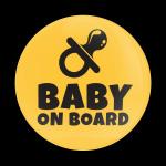 ゴーバッジ(ドーム)(CD1073 - BABY ON BOARD) - 画像1
