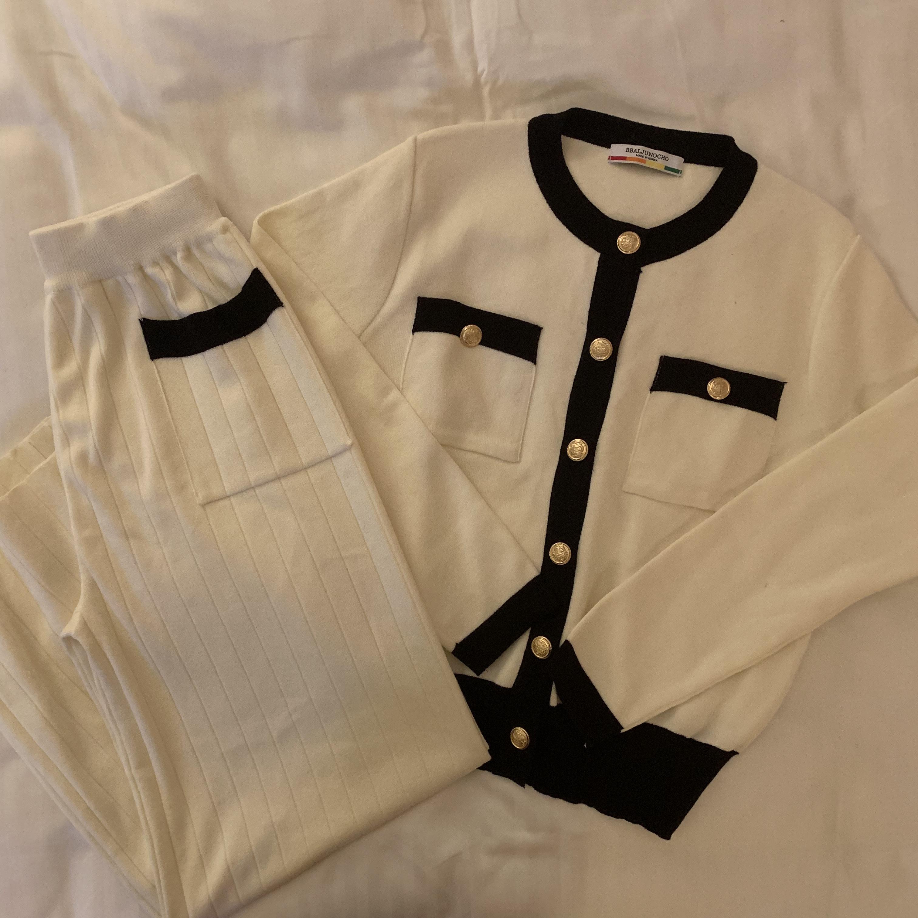 elegant line cardigan