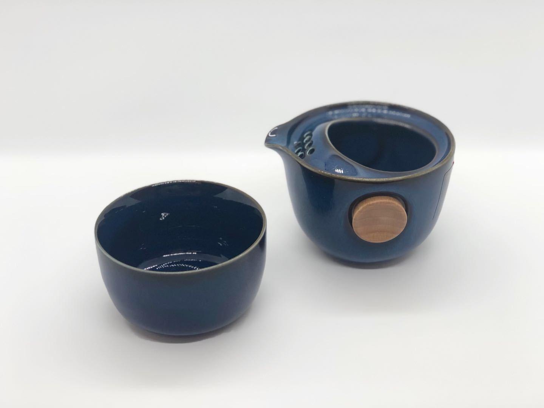 《お試し茶葉付》EILONG/茶器セット・翠玉色