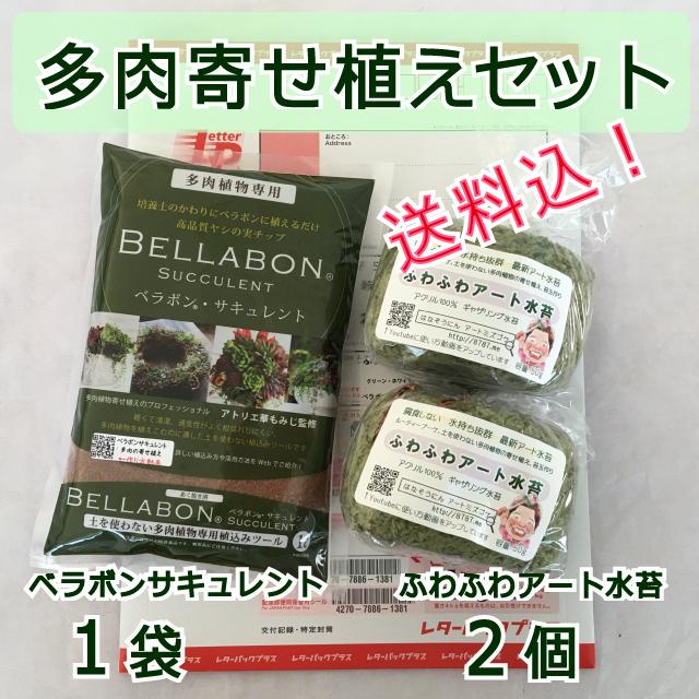 【送料込】ギャザリング水苔2個&ベラボンサキュレント1袋 セット - 画像1