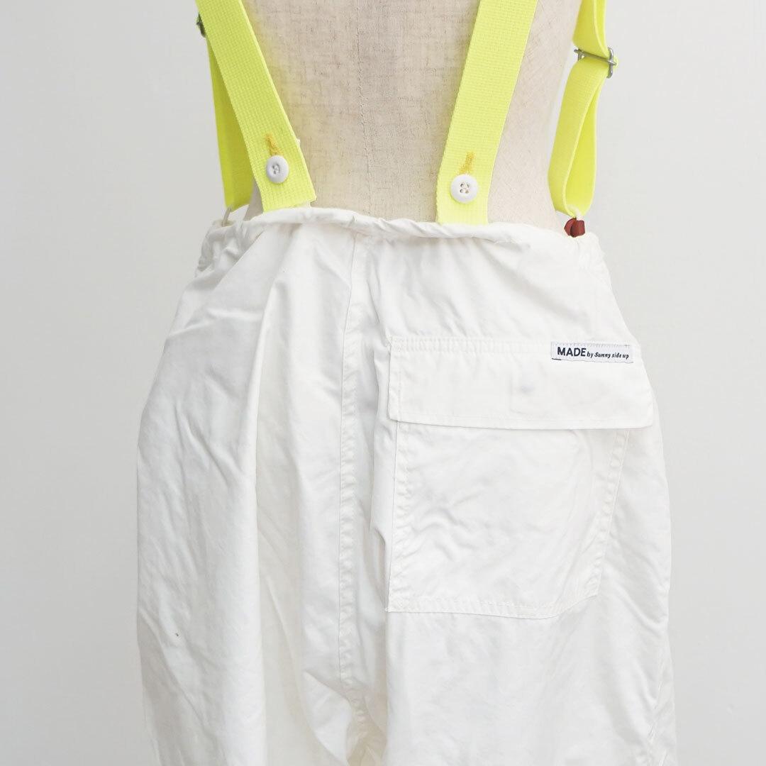 sunny side up サニーサイドアップ リメイクスノーパンツ WHITE ホワイト (品番sr-188-009)