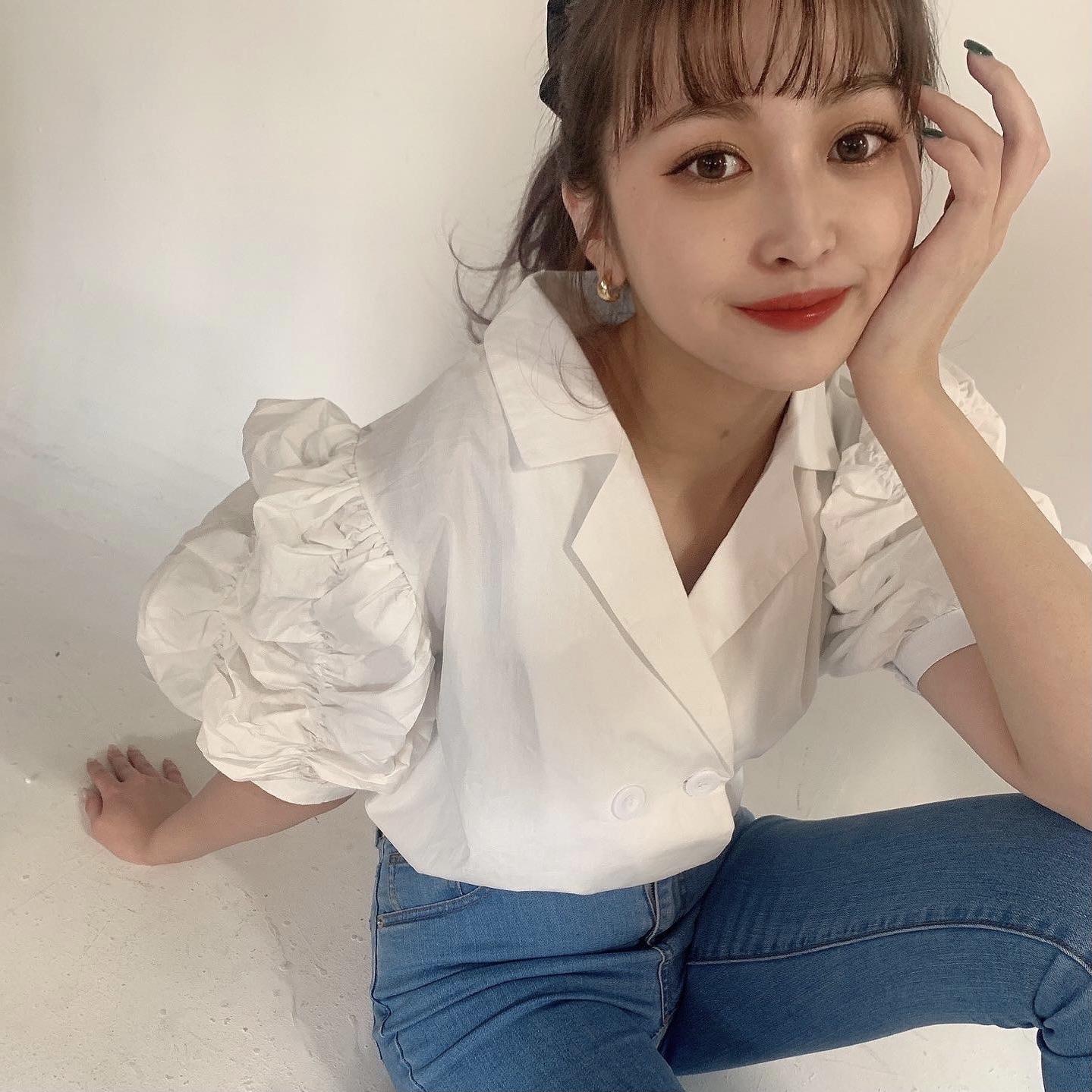 6/15 【RESTOCK】puff volume blouse