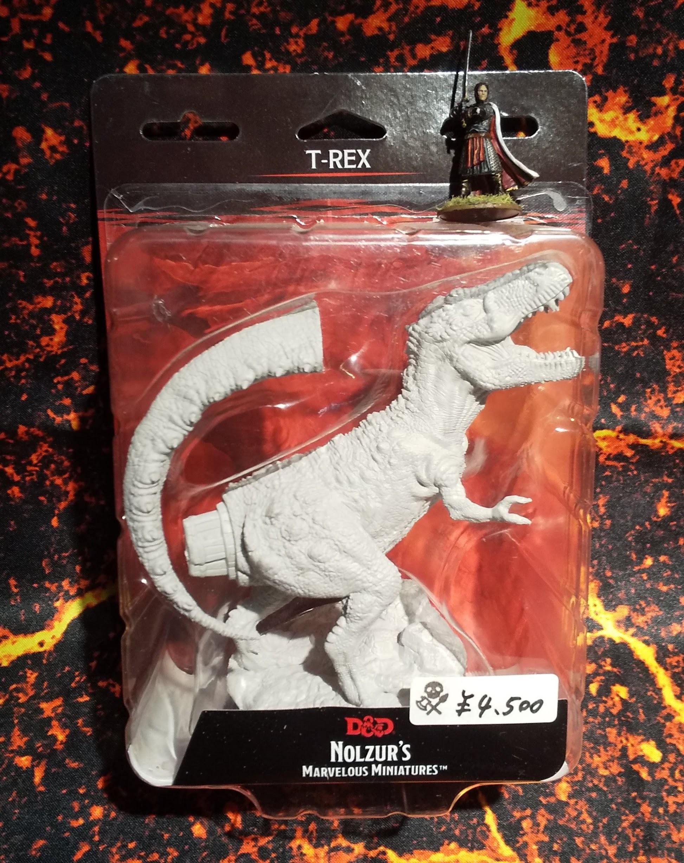 T-Rex(D&Dオフィシャルミニチュア「Nolzur's Marvelous Unpainted Miniatures」シリーズ)