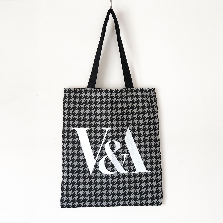 V&A design tote bag / TB-002 GY