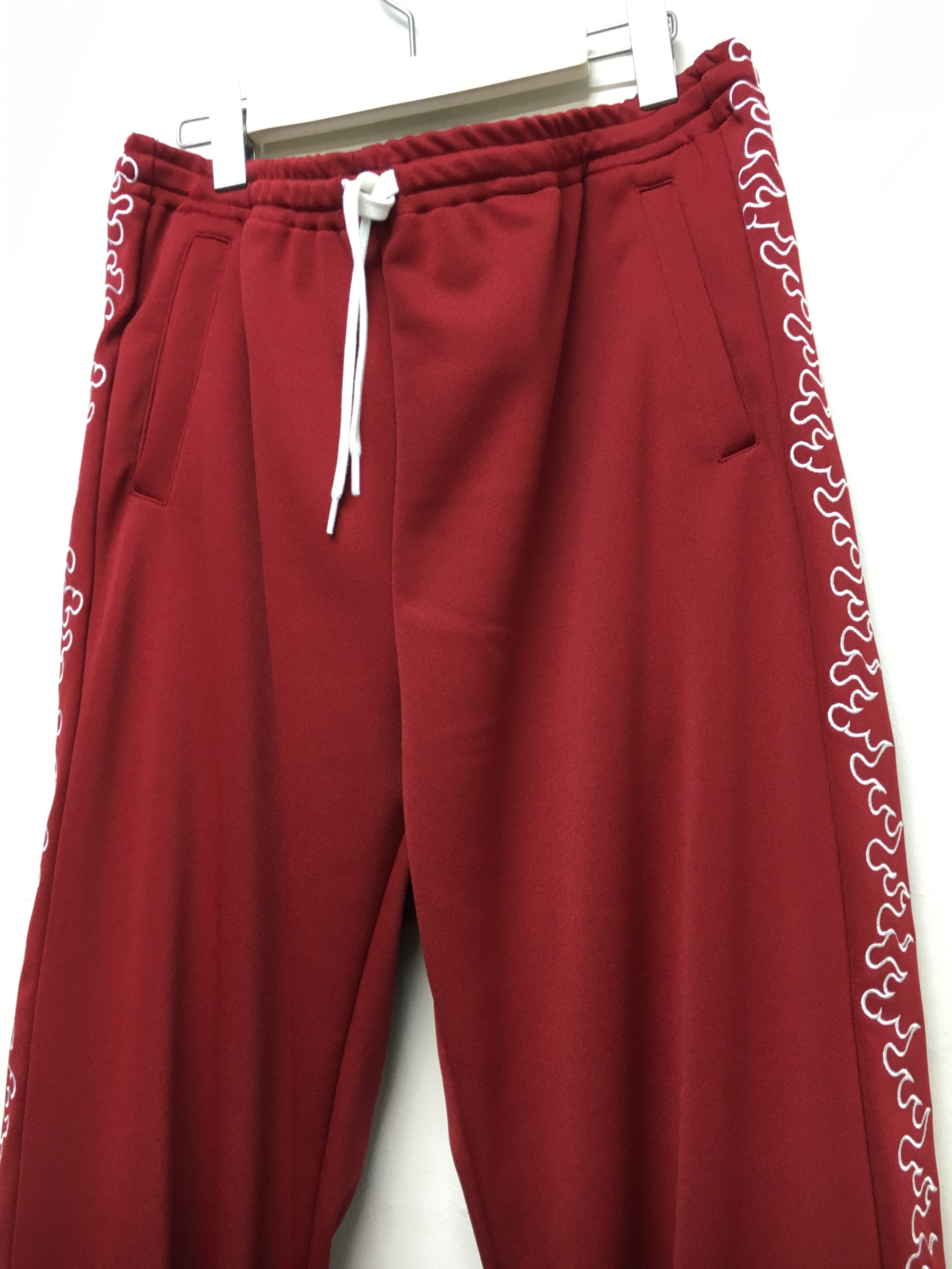 SKIN / FIRE TRACK PANTS -red - 画像2