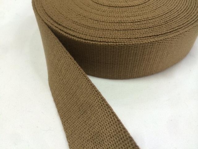 アクリル 三つ綾織 しっかり厚め カラー(黒以外) 25mm幅 5m単位