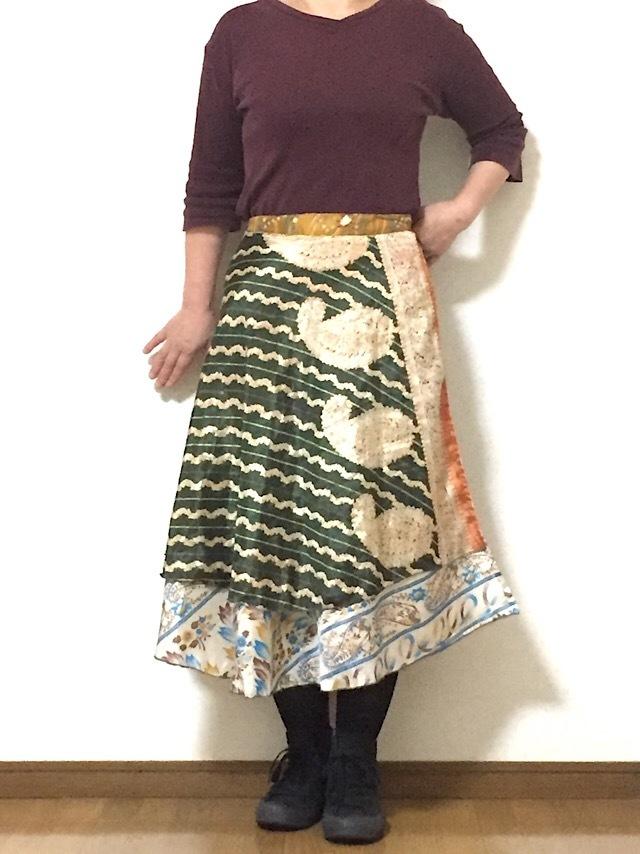 dss-048 巻きスカート ショート