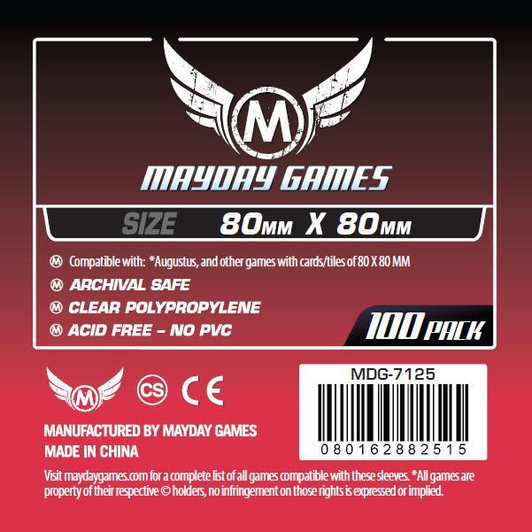 (80x80mm) Mayday カードスリーブ MDG-7125
