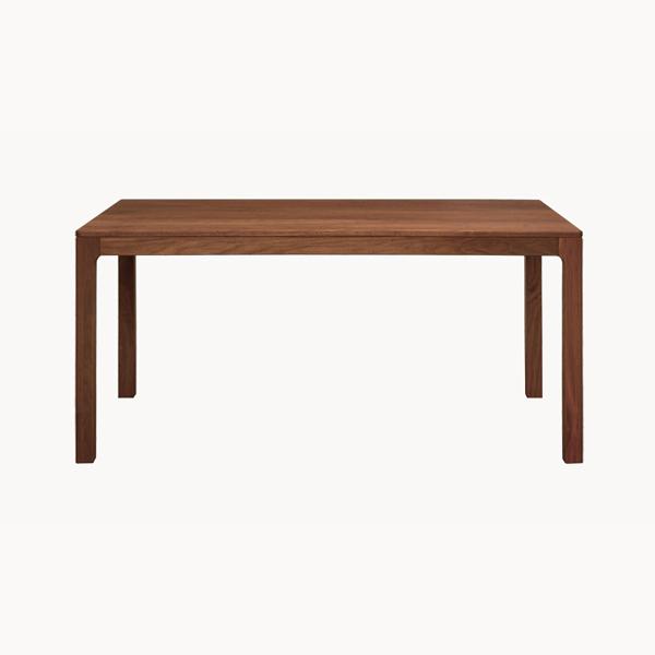 オリリア ダイニングテーブル ウォールナット 1600