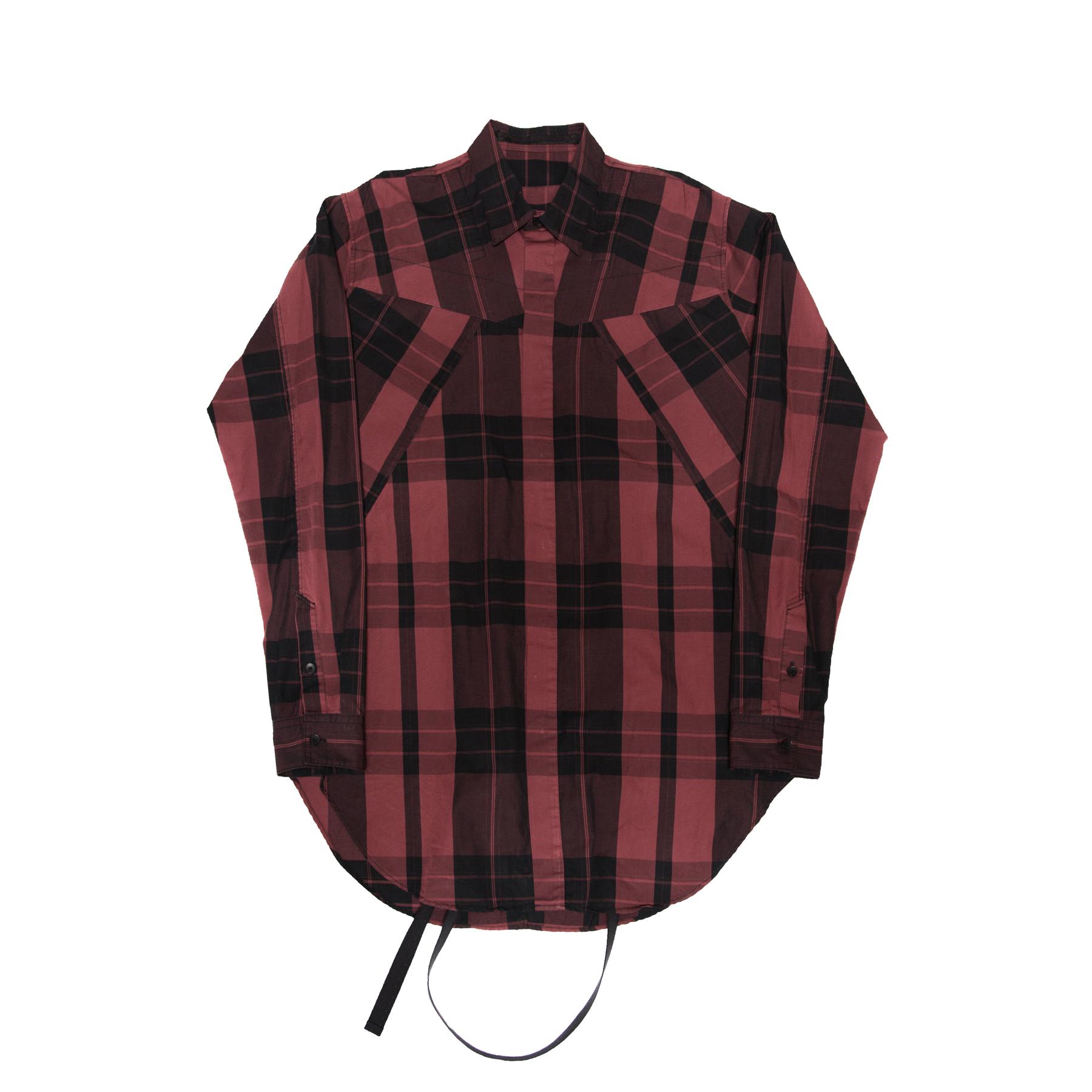 617SHM1-RED / ランダムパターンハーネスシャツ